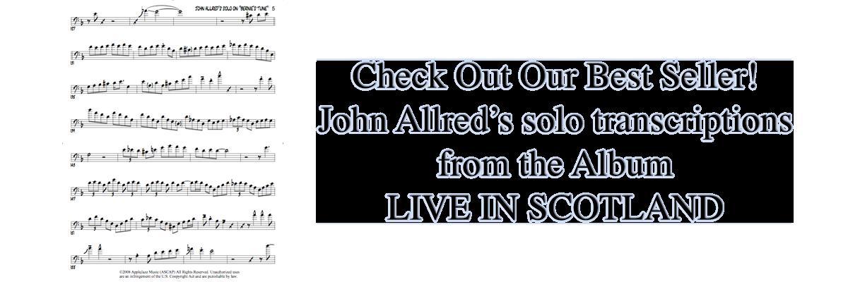 John Allred's transcriptons from Live in Scotland